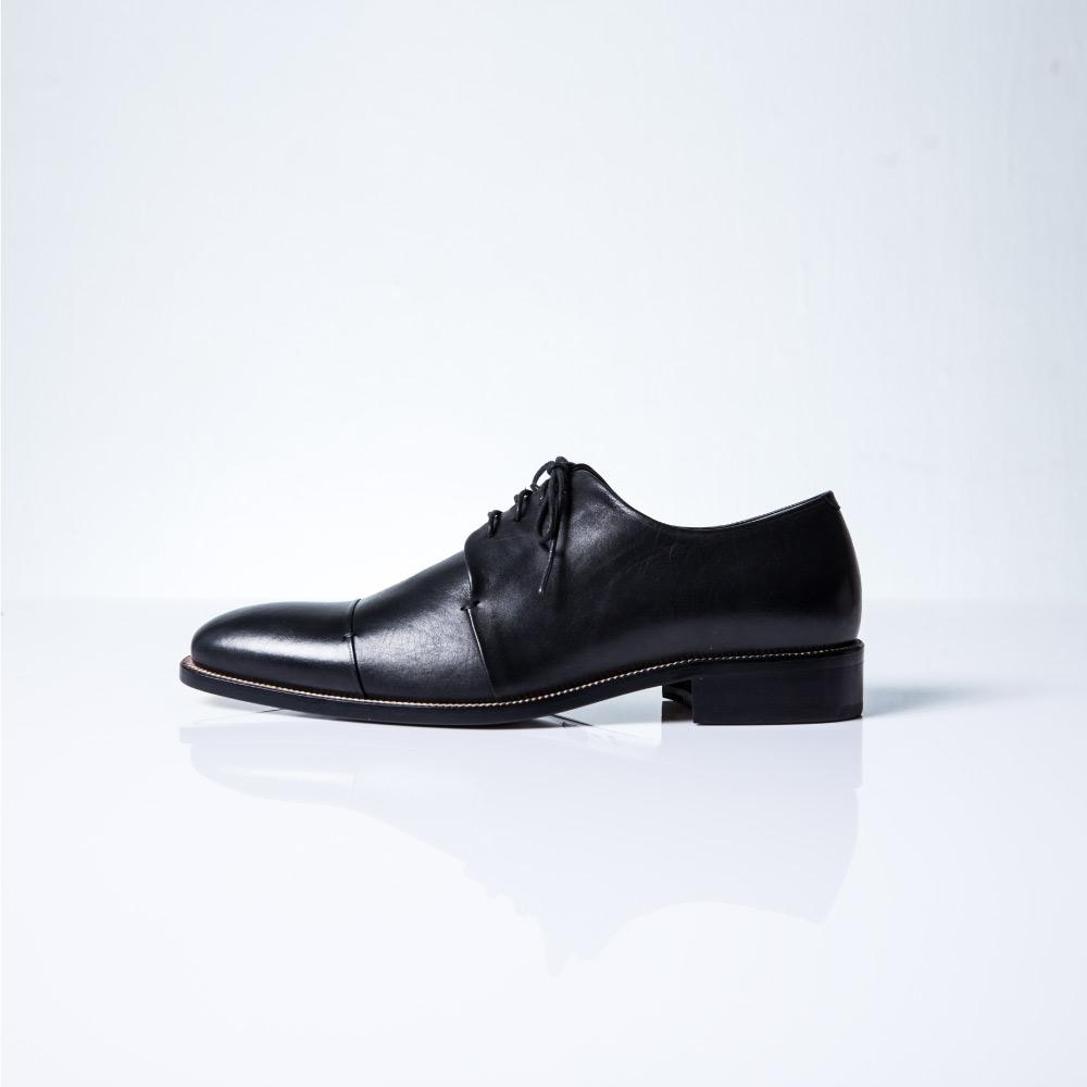 NOUR|classic MAN 男士經典款 derby 全素面德比鞋-Black 黑色