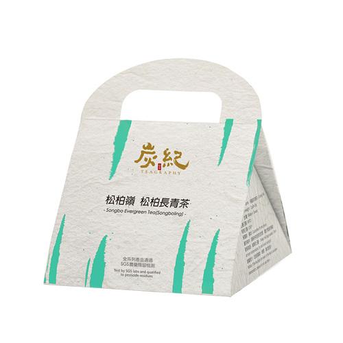 炭紀 炭TOGO系列-松柏嶺.松柏長青茶(3克袋茶8入裝)-手提盒
