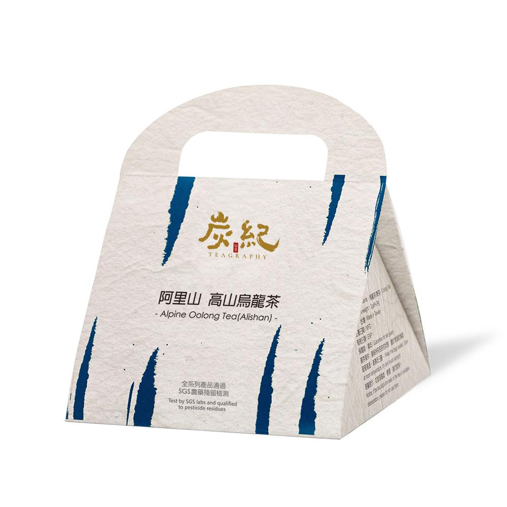 炭紀|炭TOGO系列-阿里山.高山烏龍茶(3克袋茶8入裝)-手提盒