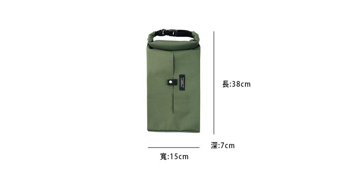 (複製)Roderick- 扣掛式衛生紙收納袋(淺棕)