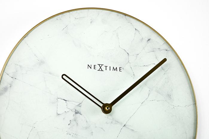 (複製)NEXTIME|北歐兩秒一線靜音掛鐘(黑)