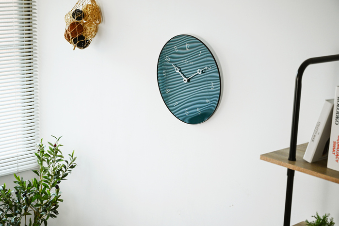 (複製)NEXTIME|NEXTIME北歐圓盤數字靜音掛鐘(綠)