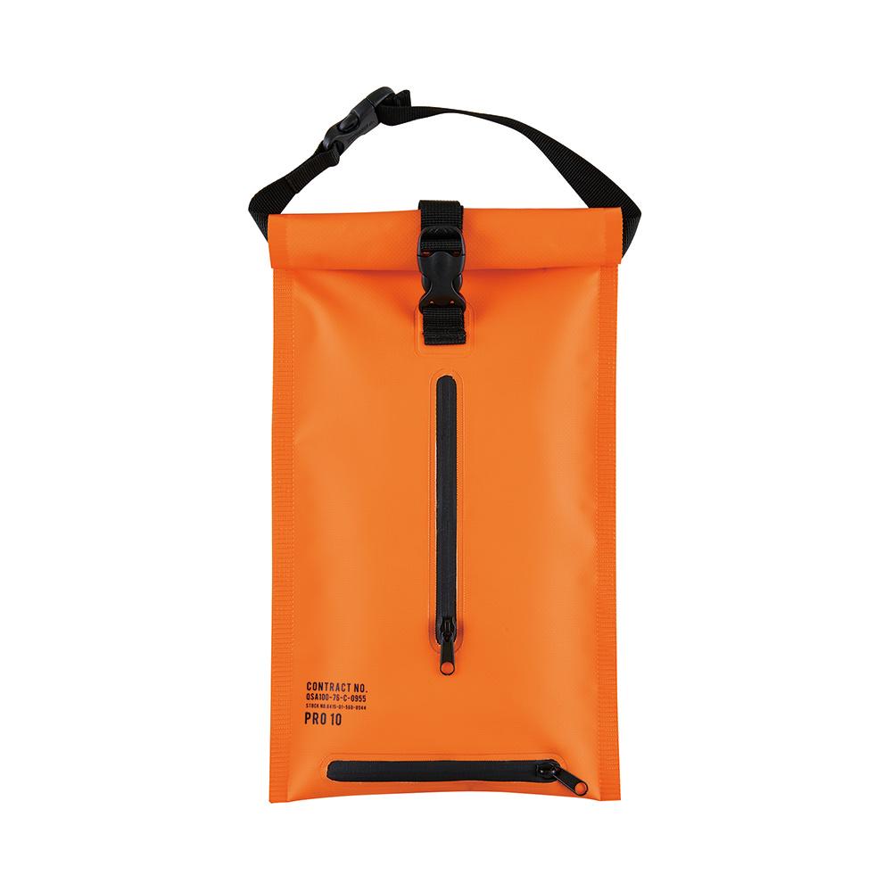 Zeller Life 防潑水扣掛式衛生紙收納袋(橘)
