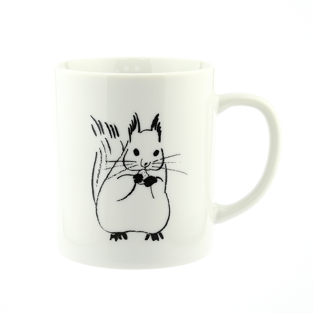 El Commun 森林精靈馬克杯-小松鼠