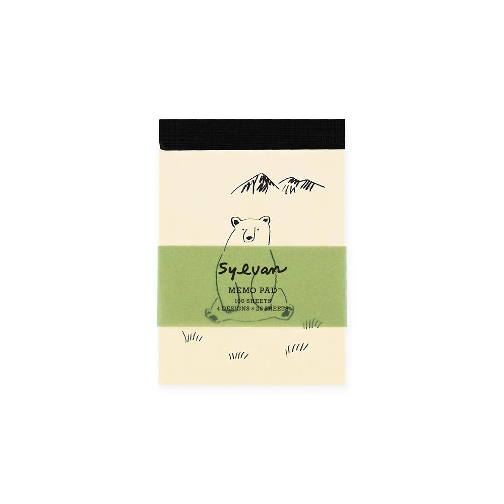 El Commun|森林精靈便條紙-大白熊