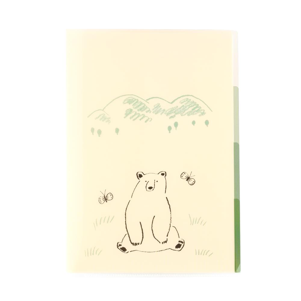 El Commun|森林精靈A5資料夾-大白熊