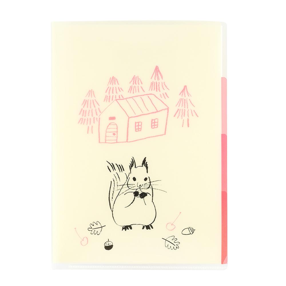 El Commun 森林精靈A5資料夾-小松鼠