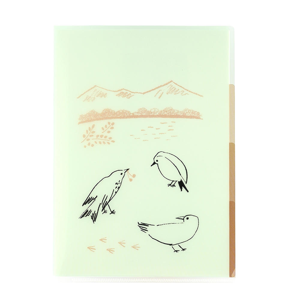 El Commun|森林精靈A5資料夾-小鳥