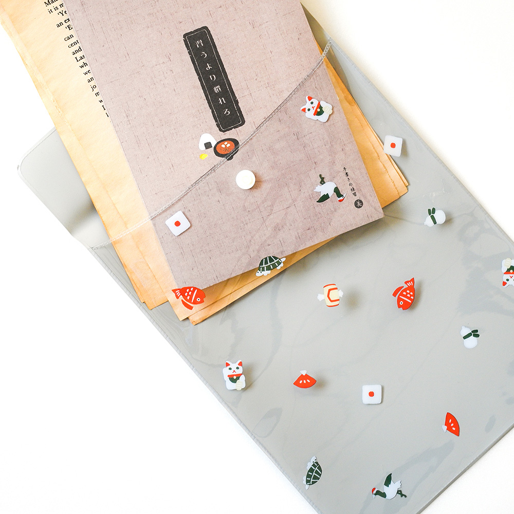 El Commun 和風小物資料袋-祈福小物