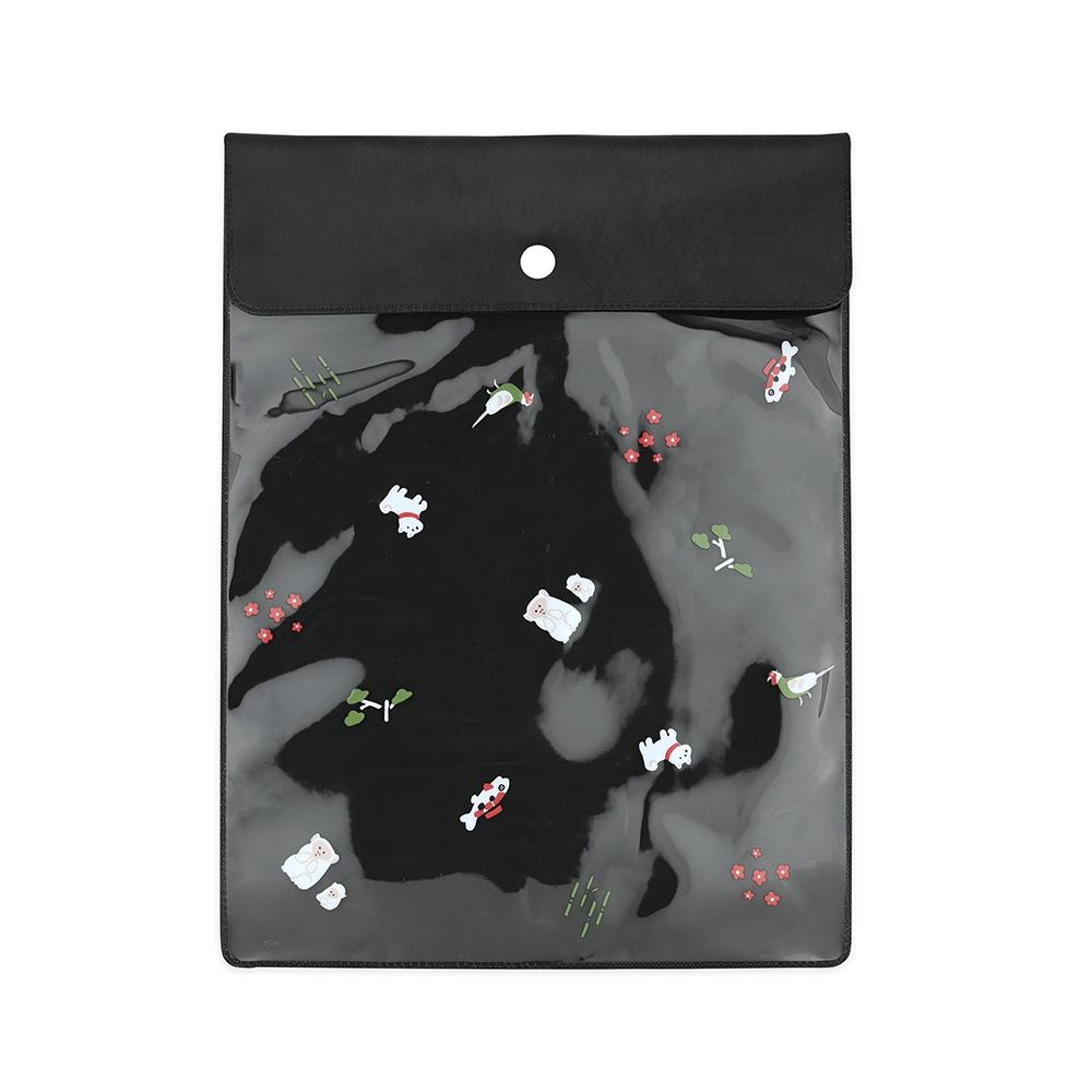 El Commun|和風小物資料袋-可愛動物