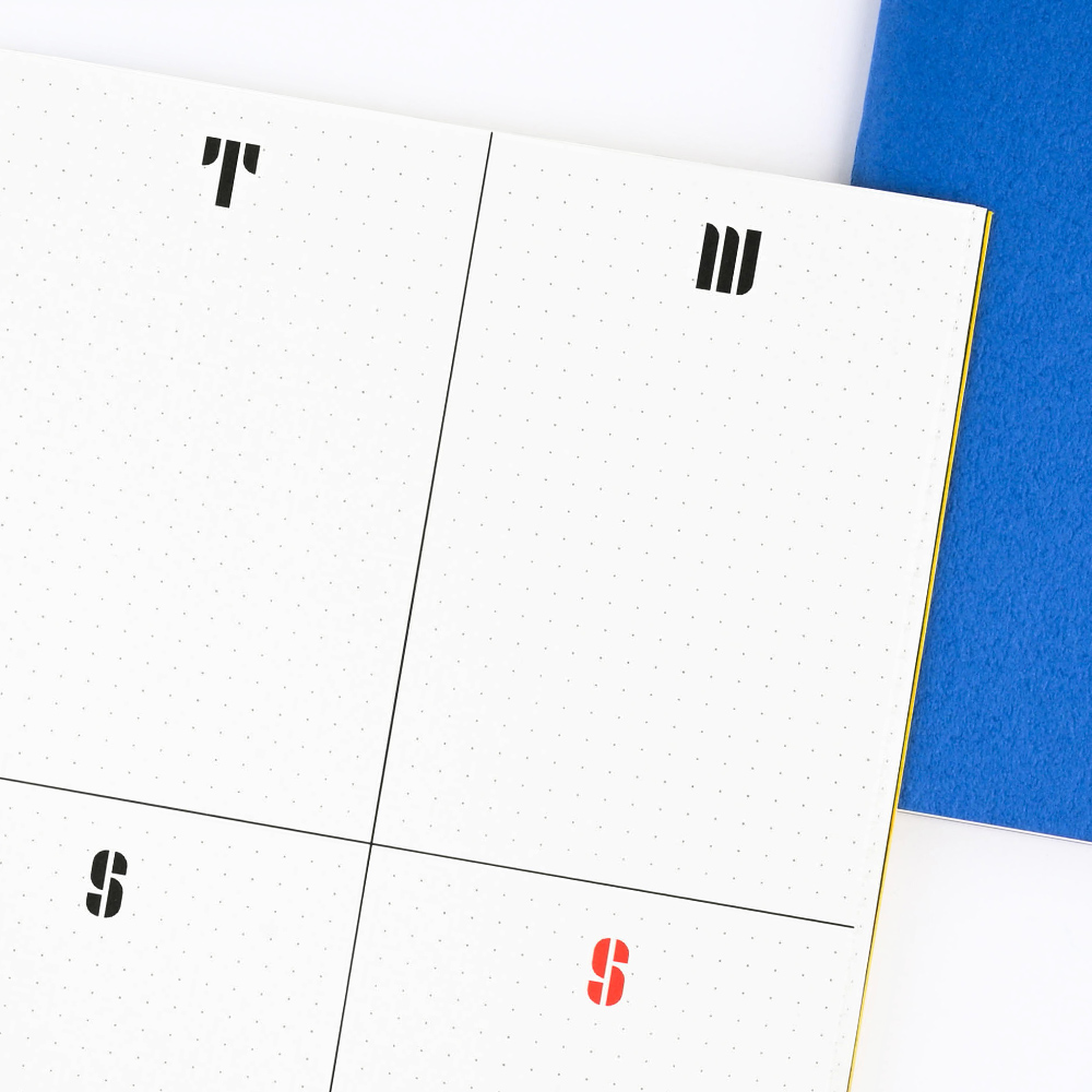 El Commun|B6包浩斯自填式週誌-藍
