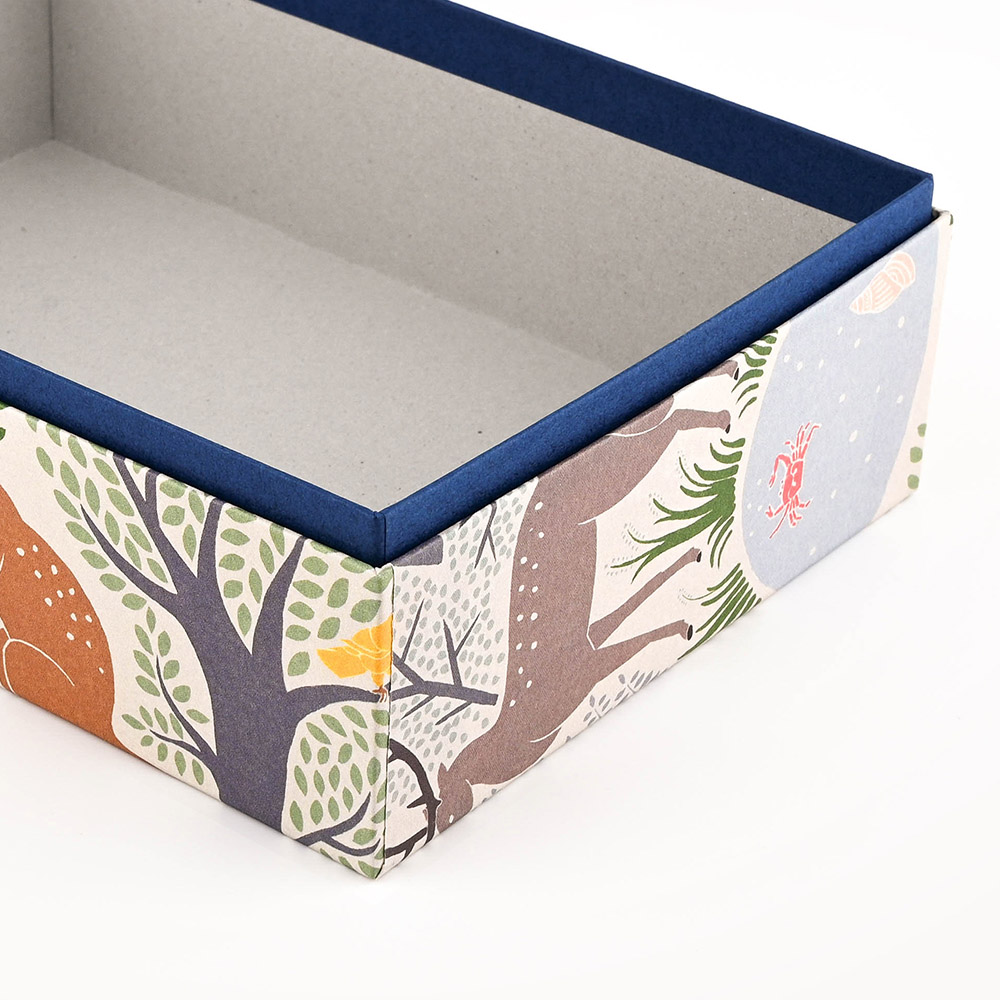 El Commun|繽紛旅行禮物包裝盒-森林(大)