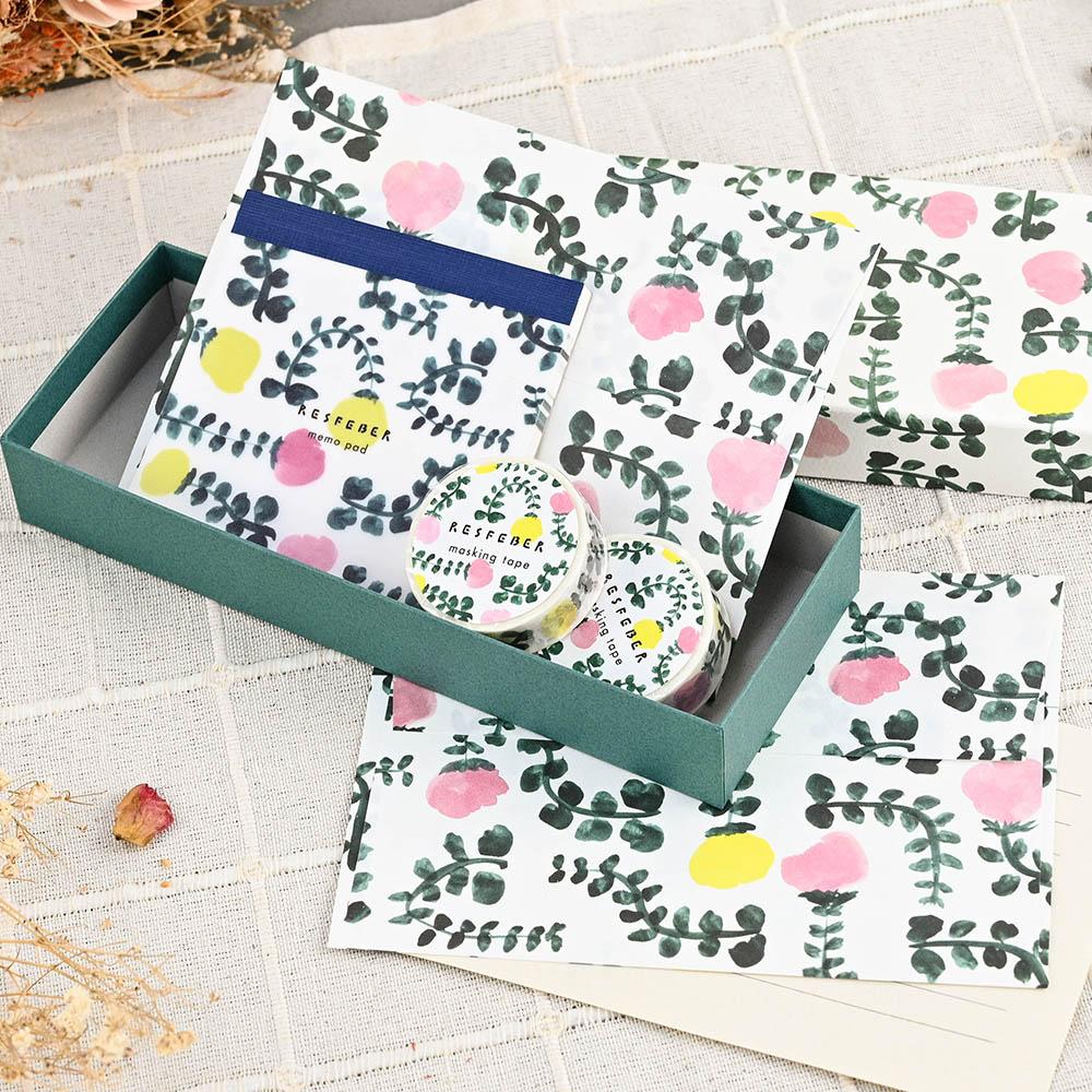 El Commun|繽紛旅行禮物包裝盒-花園(中)