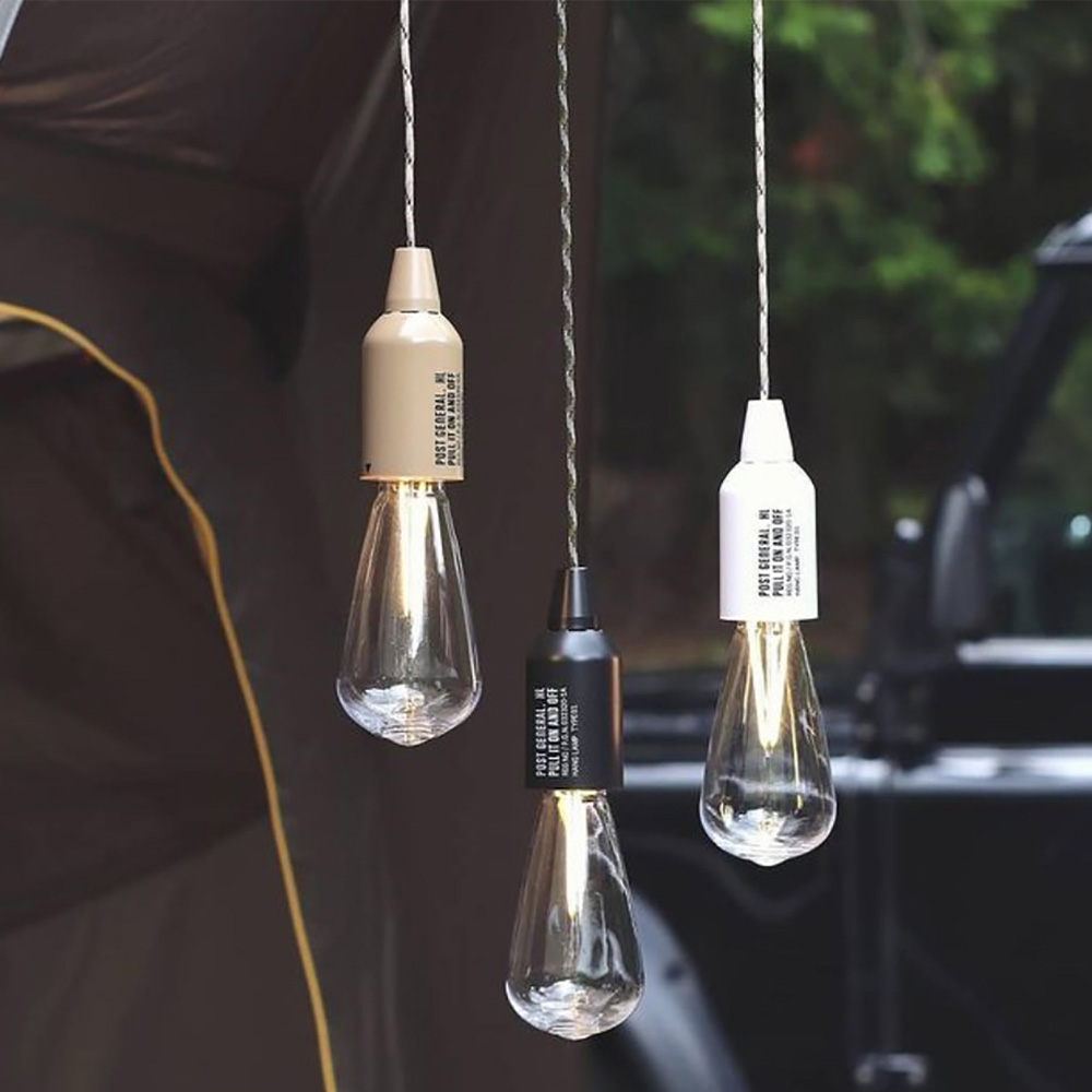 POST GENERAL|便攜型戶外露營LED掛燈(玄黑色)