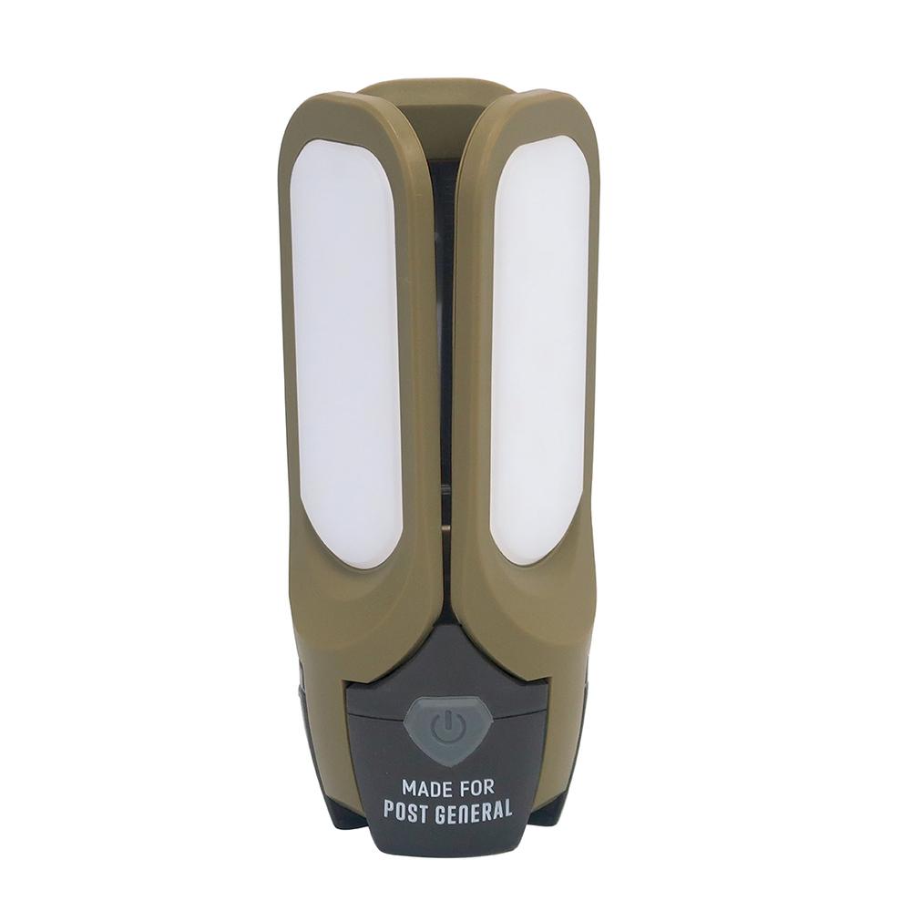 POST GENERAL|多功能太陽能充電LED燈(橄欖綠)