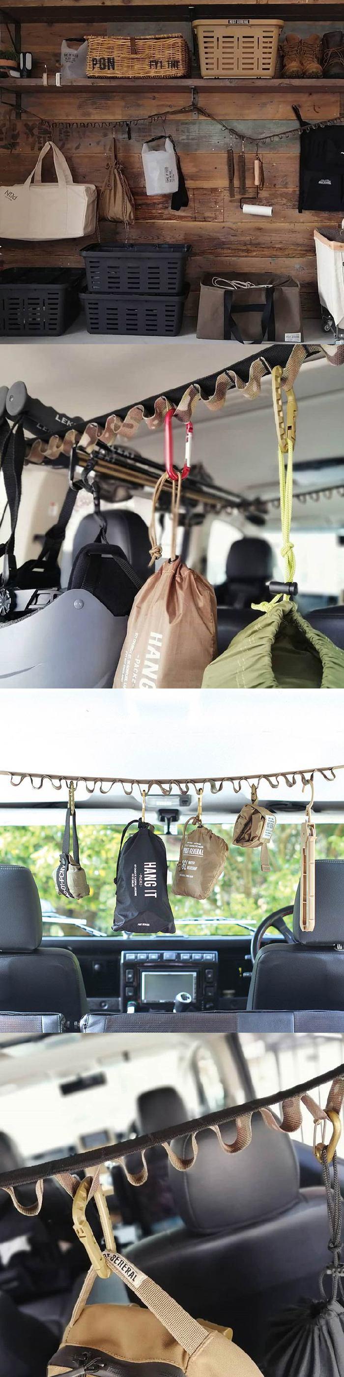 (複製)多用途可折疊式收納衣架-2入組(橄欖綠)
