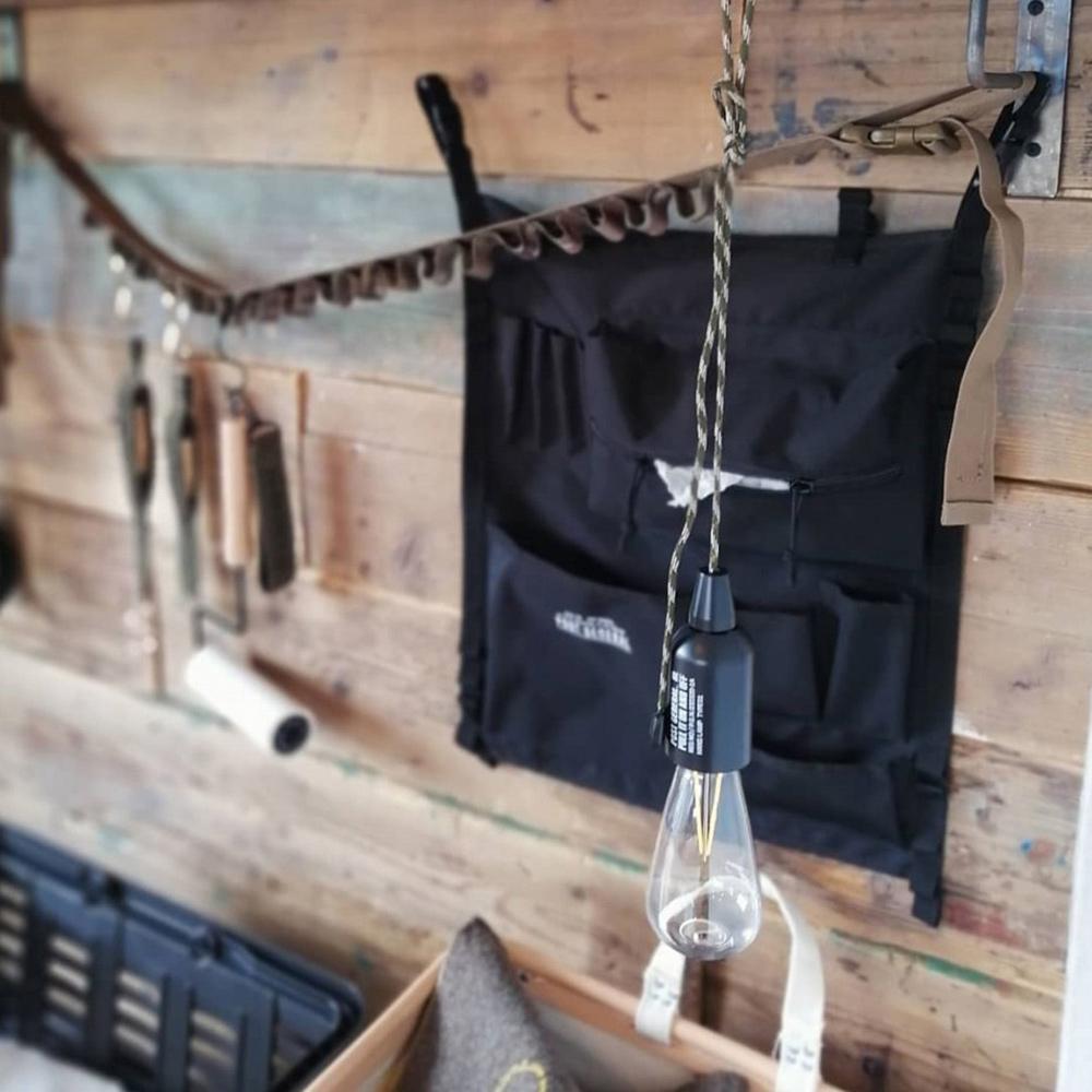 POST GENERAL 懸掛式收納吊帶-2入組(狼棕色)