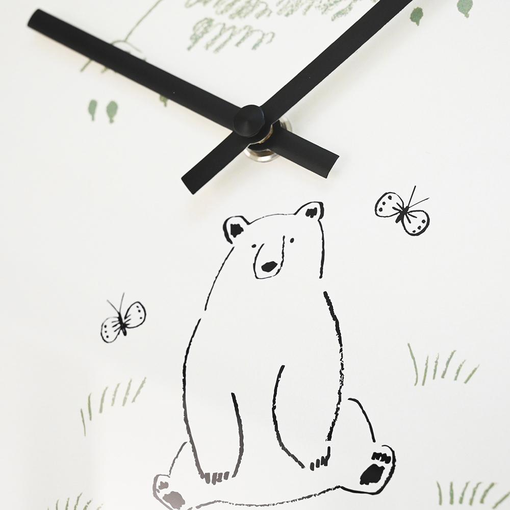 El Commun|森林精靈掛鐘-大白熊