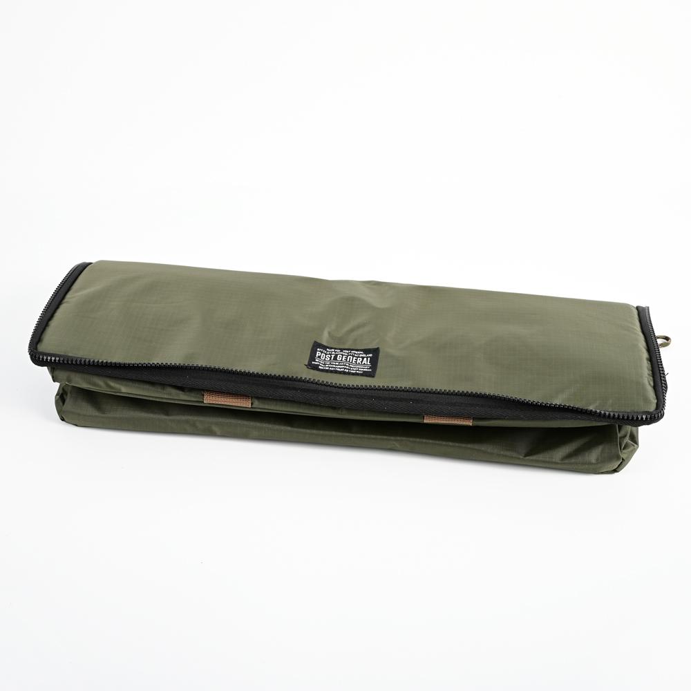 POST GENERAL|可折疊立體長型保冷保溫袋(橄欖綠)