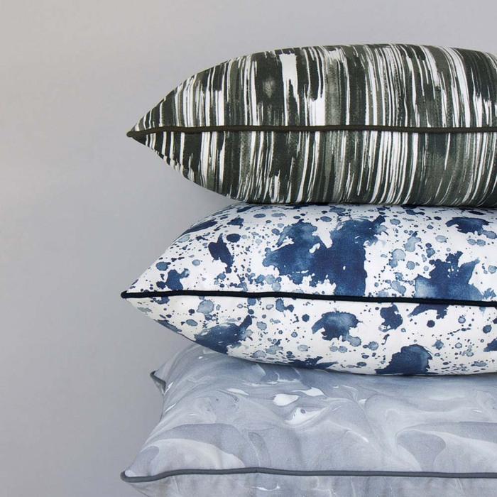 (複製)ERDA Living|盛夏慶典 抱枕套 (多色 - 湛藍.苔綠色/ 50x50cm)