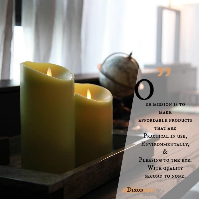 Veraflame|斜口擬真 LED 蠟燭 Oblique Edge LED Candle(M)