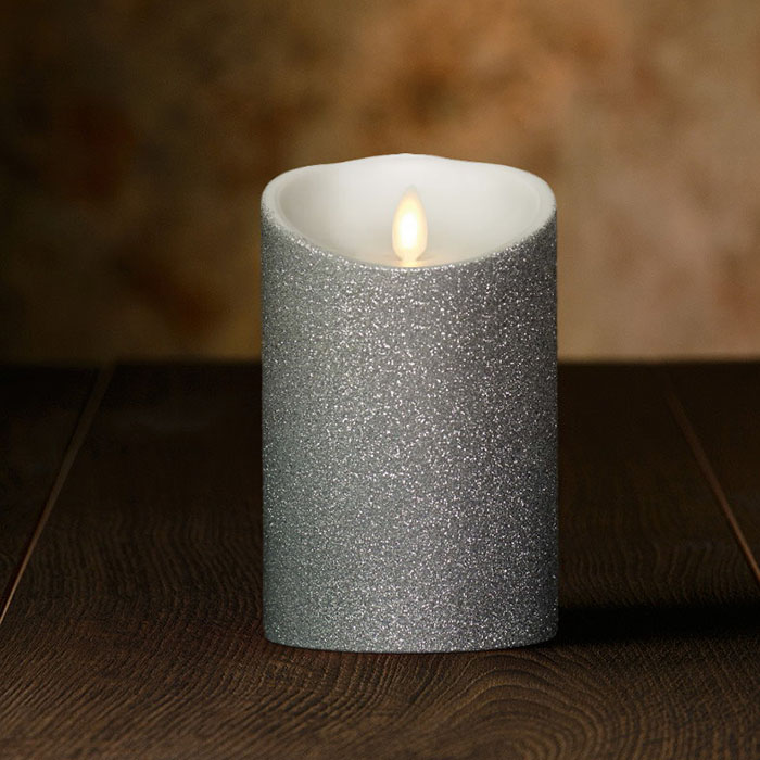 Veraflame|金蔥斜口擬真 LED 蠟燭 Glitter Oblique Edge LED Candle