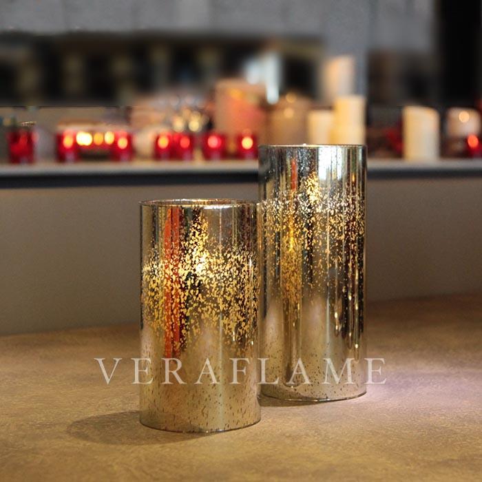 Veraflame|擬真 LED 玻璃管燭燈(S)