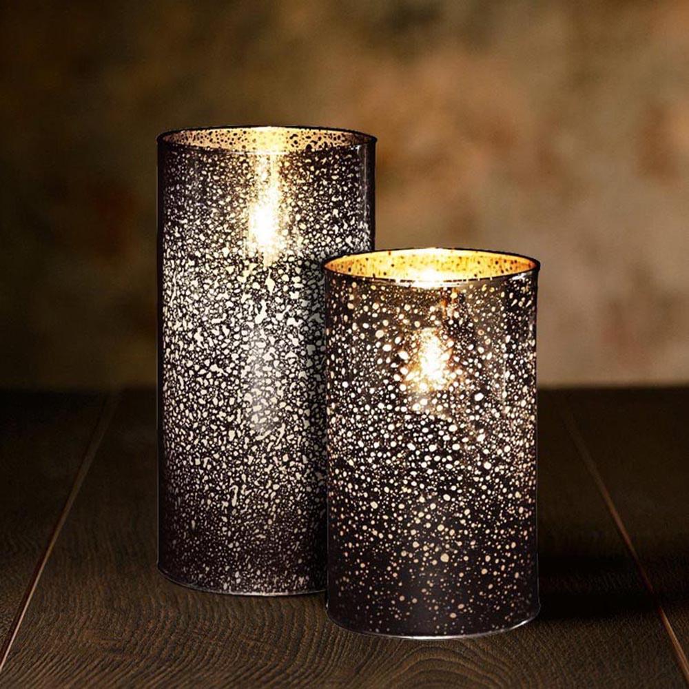 Veraflame|擬真 LED 玻璃燭燈(M)