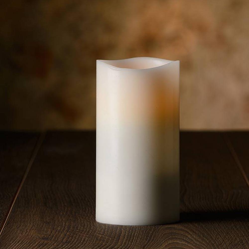 Veraflame|⍉ 3.15黑棉芯擬真蠟燭 Wavy Edge LED Candle(M)