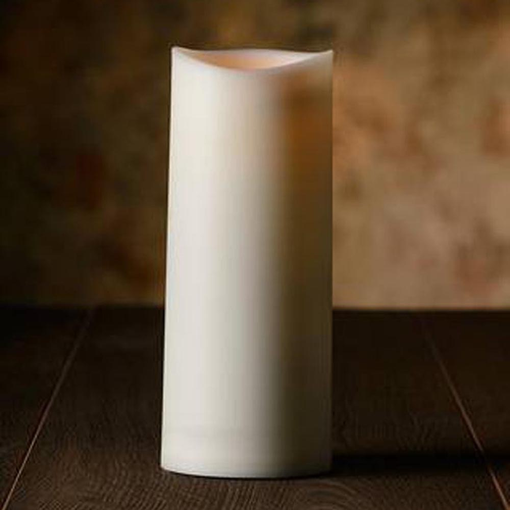 Veraflame ⍉ 3.15黑棉芯擬真蠟燭 Wavy Edge LED Candle(L)