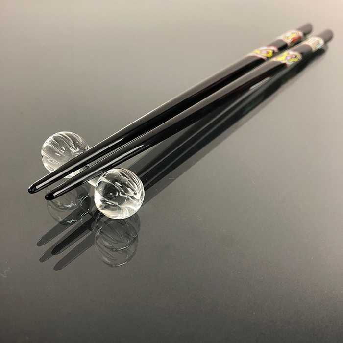 (複製)光山行|手工研磨一生一筷 面 Lacquer chopsticks(紅藍色)