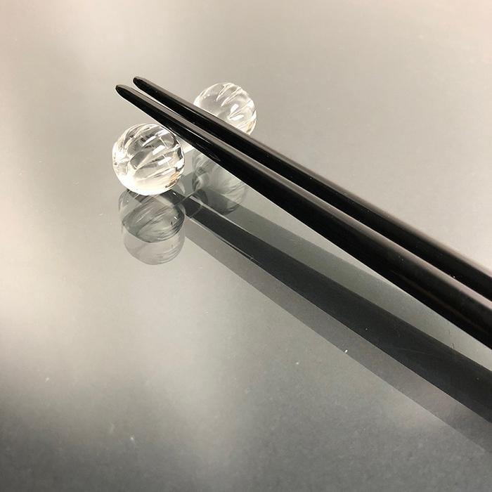 (複製)光山行|手工研磨一生一筷 旋轉 Lacquer chopsticks(紅藍色)