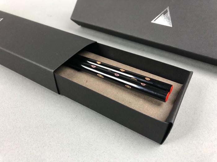 光山行|手工研磨漆筷 圓點 Lacquer chopsticks(紅藍色)