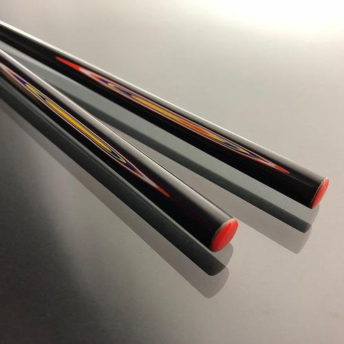 光山行 手工研磨漆筷 線條 Lacquer chopsticks(紅藍色)