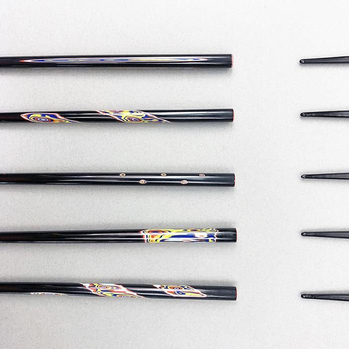 光山行|手工研磨漆筷 面 Lacquer chopsticks(紅藍色)
