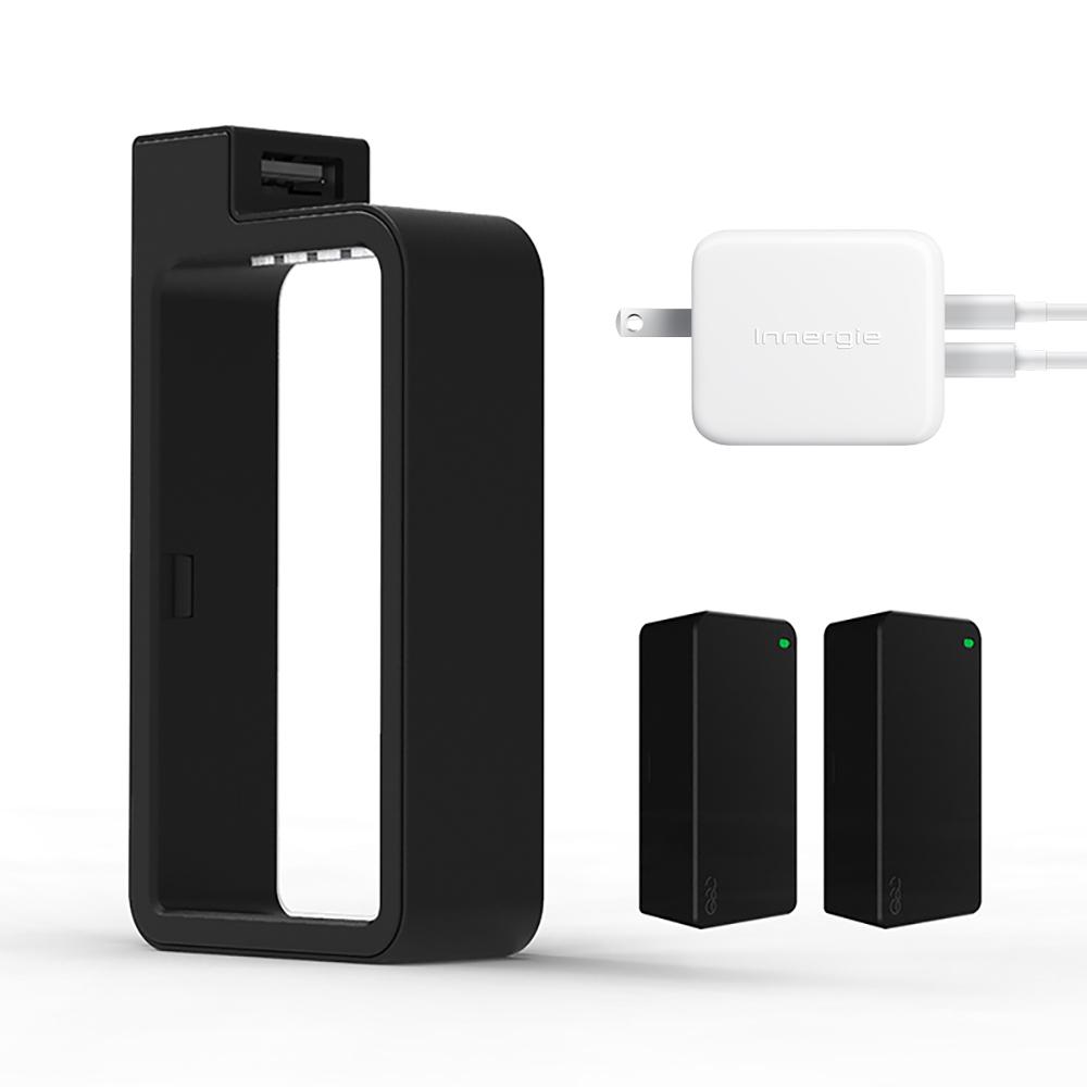 QQC|Q-SWAP隨身電源 10400禮盒版 + Innergie 24W 充電器