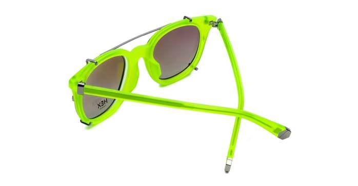 (複製)HEX Eyewear|演員 - Damon│光學配前掛墨鏡│太陽眼鏡│義大利製 - 黑色