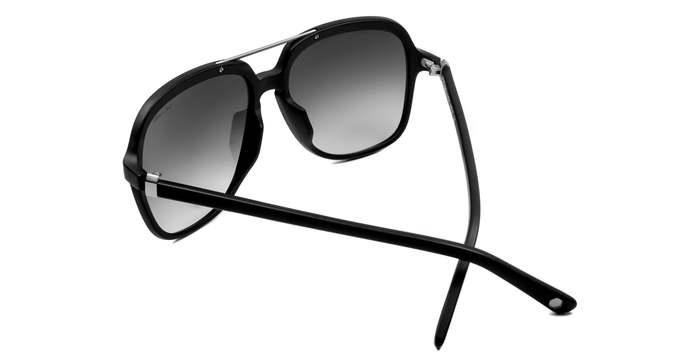 HEX Eyewear|藝術家 - Kurt C.│墨鏡│太陽眼鏡│義大利設計 - 黑色