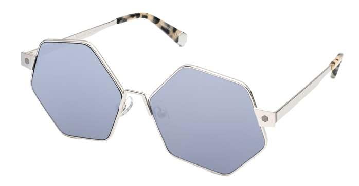 HEX Eyewear 和平主義者 - Ono│墨鏡│太陽眼鏡│義大利製 - 灰水銀