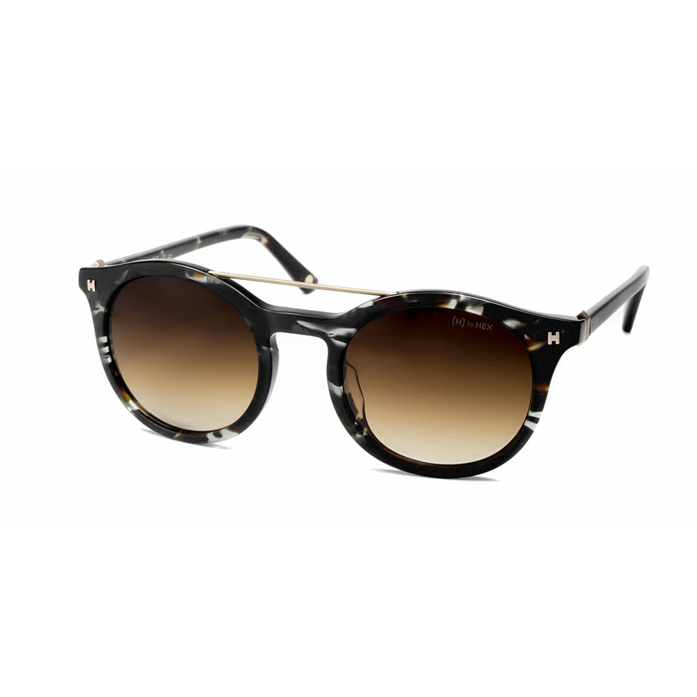 HEX Eyewear|科學家 - Charles D.│墨鏡│太陽眼鏡│義大利設計 - 褐色啡花