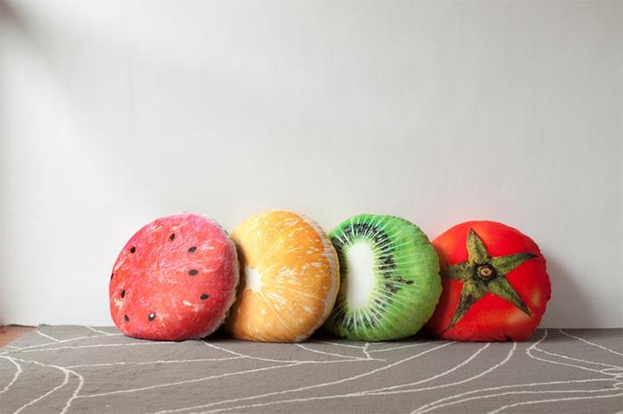 (複製)(複製)HIPEPPER|繽紛夏日水果系列抱枕-奇異果