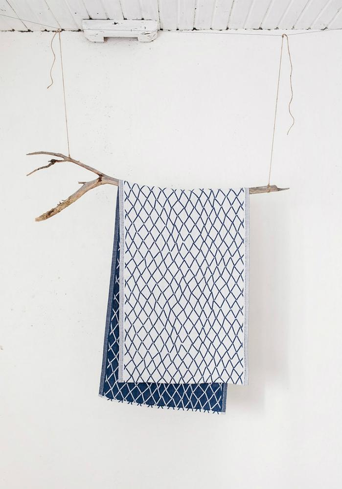 Lapuan Kankurit|Eskimo棉麻長桌巾 (深藍)