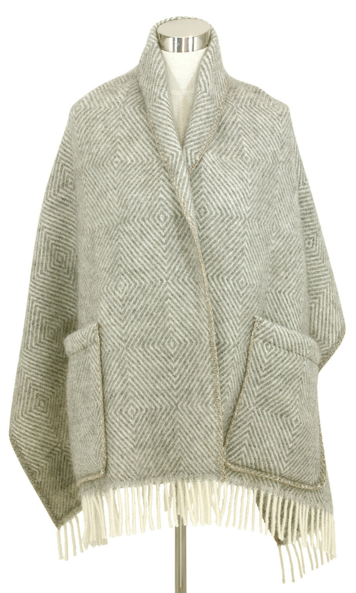(複製)Lapuan Kankurit|鹿兒島睦貓狗羊毛毯 (黑灰)