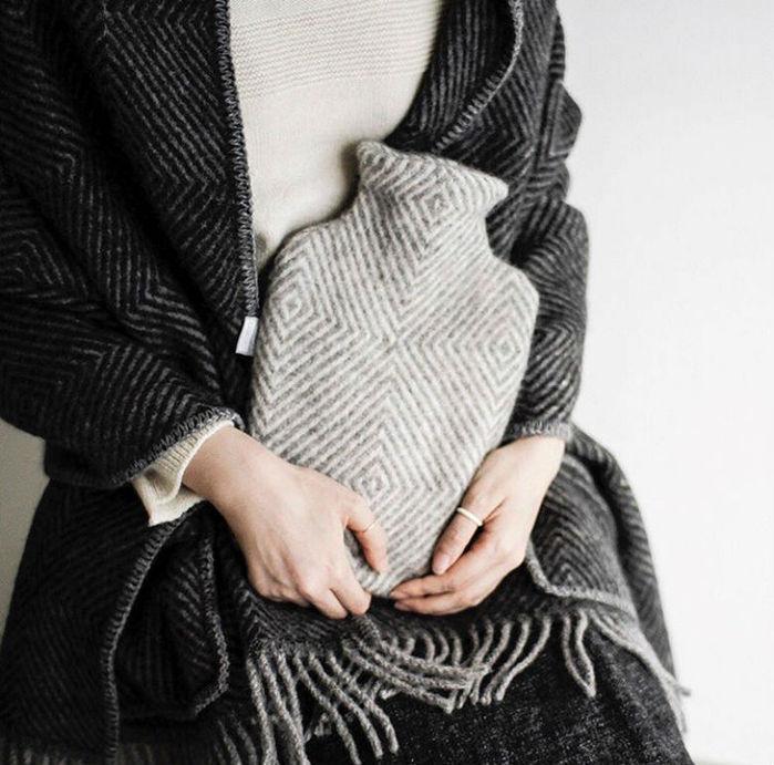 Lapuan Kankurit|MARIA 熱水袋 (淺灰條紋)