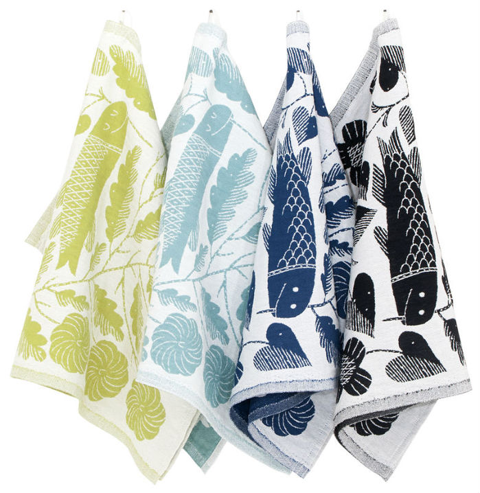 (複製)Lapuan Kankurit 鹿兒島睦鯉魚萬用擦巾 (藍莓色)