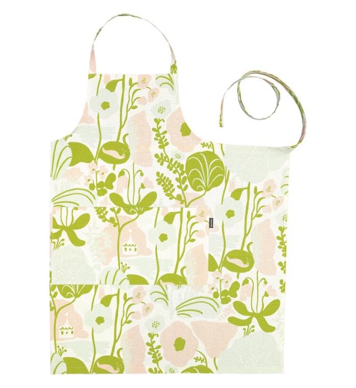 (複製)Kauniste 棉麻圍裙 (夏日的秘密基地粉藍)