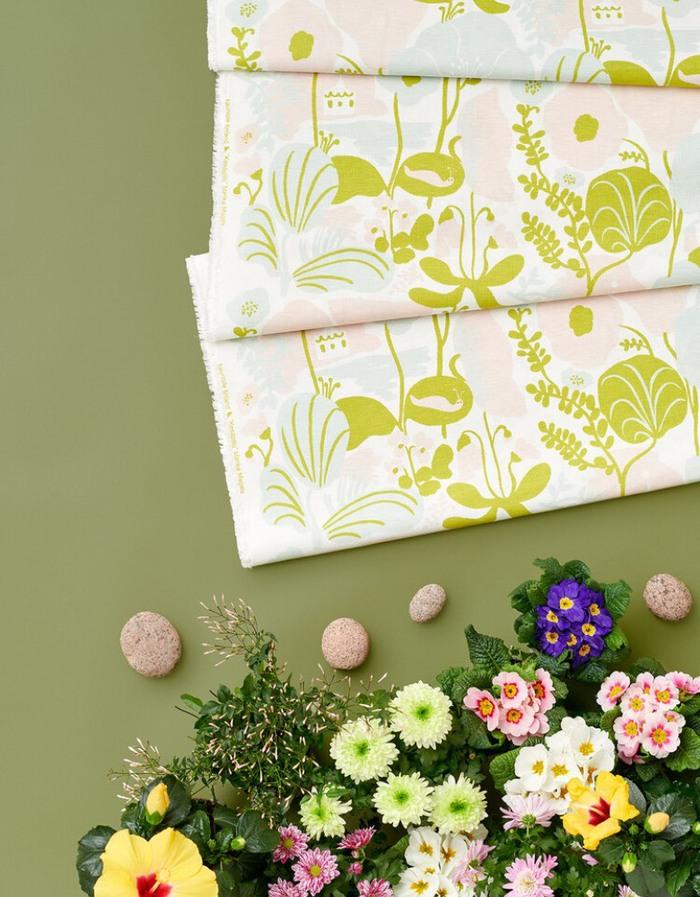 (複製)Kauniste|棉麻擦巾 (夏日的秘密基地粉藍)