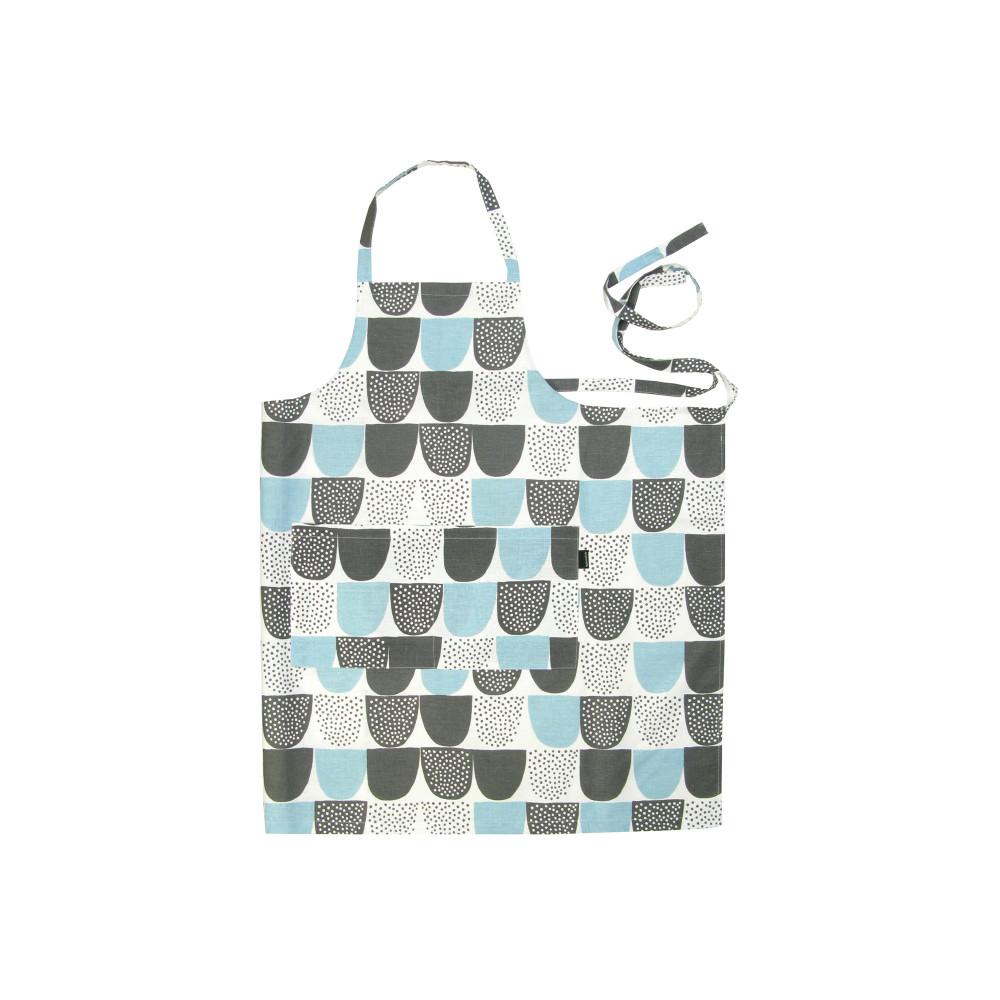 Kauniste 棉麻圍裙 (藍色砂糖)