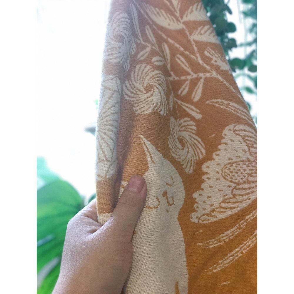 Lapuan Kankurit|鹿兒島睦貓狗萬用擦巾 (黃)