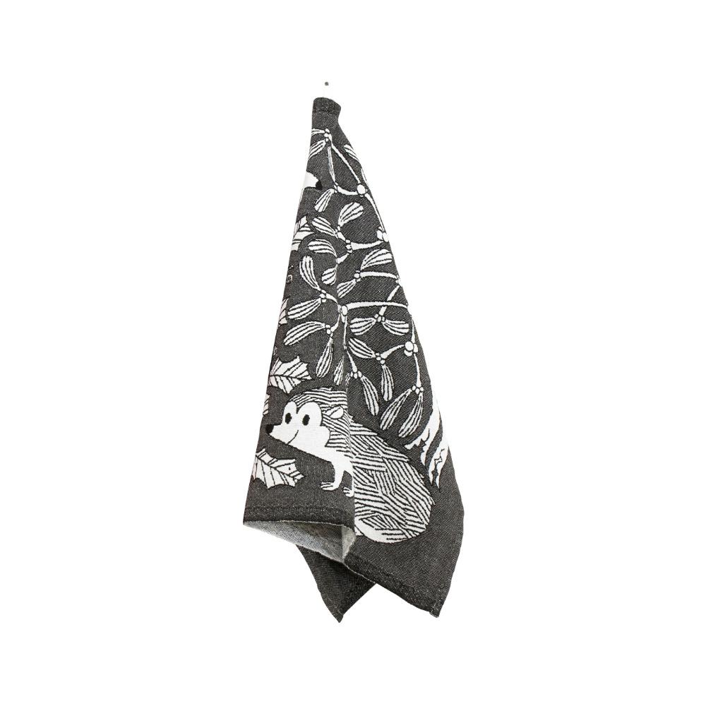 Lapuan Kankurit|鹿兒島睦刺蝟萬用擦巾 (黑白)